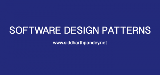 Design Patterns – Siddharth Pandey